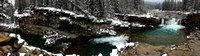 Sheep River Falls - Oct 21_12